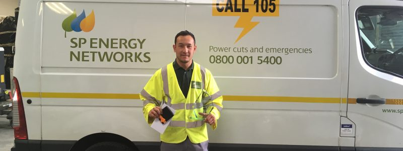 sp energy networks apprentice passing through epa